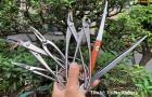 Bộ dụng cụ thép trắng Nhật Bản